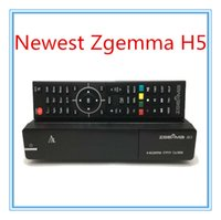 best linux satellite receiver - Best Zgemma H5 Enigma Linux Dual Core DVB S S2 HYBRID DVB C T T2 Tuner Satellite Receiver H HEVC Smart TV Box