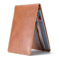 bag blocks - RFID Signal Blocking Card Case Leather Wallet Security Bag Holder Personal Private Data Protector Case Ultra Slim Thin for Men Women