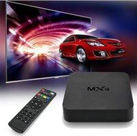 Wholesale Original KODI MXQ TV Box Amlogic S805 Quad Core Cortex A5 Mali Quad Core H H KODI Pre installed MX MXQ Android TV