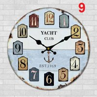 Wholesale Home Office Wall Clock creative clock super quiet art clock home office Decoration item9