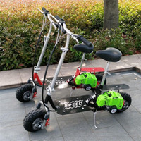Wholesale 49cc Gas powered skateboard Petrol scooters Mini Motorcycle Gasoline scooter stroke fuel Bicycle