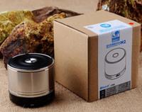 Cadeaux chauds de vente M2 superbe récepteur stéréo de musique de bluetooth de stéréo avec le haut-parleur de boîte sans fil radio de bruit