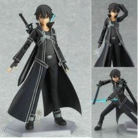 Wholesale Hot Sales Brand New Classic Trendy Japan Action Anime Figures Model Movable Figma SAO cm PVC Collection Model Toys Boxed