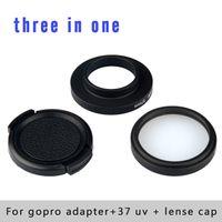 camera filter lens adapter - Camera Photo Camera Filters Professional mm Gopro Filter UV Filter Filter Adapter Lens Cap for Gopro Hero
