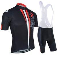 bib shorts road - Mountain Road Team Cycling Jerseys Breathable Anti UV Cycling Clothes Summer Short sleeved Suit Black Cycle Clothing Jersey and Bib Shorts