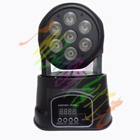 auto mobil - 2016 HOT led mini dmx wash light x12w rgbw in1 moving head stage effect light mobil head fast