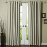 Wholesale Home Textiles Thermal Insulated Blackout Panels Not Tieback Window Curtain Draperies Available for Shipment Exclusively within the U S