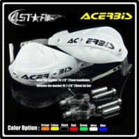 acerbis atv - ACERBIS White Handguard handlebar hand guard Fit MX Motorcycle Motocross Dirt Pit Bike CRF YZF KTM RMZ KLX Supermoto ATV Quad