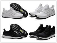 women footwear - Fashion Brand Men And Women Ultra Boost Pirate Black Running Shoes Footwear Sneakers Kanye West Boost milan Casual Sport Sneakers Size