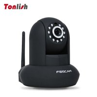 Wholesale Foscam FI9821P Plug and Play Degree Viewing Angle Wireless Wired Pan and Tilt IP Camera