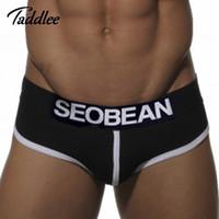 Cheap Wholesale-sexy men brief cotton mens underwear brand hot 2016 new arrival gay pouch penis wonderjock bikini underwpants sexy brief