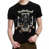 band motorhead - Men s heavy metal rock band T shirts Motorhead D printing T shirt men s fashion casual short sleeved shirt tops
