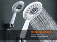 Wholesale fashion Durable Bathroom Shower Head Massager Hand held with m stainless steel hose and adjustable plastic seat holder