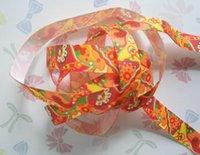 Wholesale Hight quality printed Single Face ribbon NO thermal transfer ribbon export ribbon mm mm mm mm mm