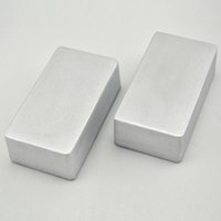 aluminum project cases - 2pcs B N1 hammond Aluminum case guitar stompbox pedal enclosure for guitar effect pedal project