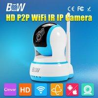 automatic sensor door alarm - Wifi IP Camera HD P P2P Pan Tilt Infrared IR Wireless Door Sensor CCTV Onvif Surveillance Security Automatic Alarm
