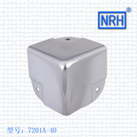aluminum corner bracket - 7201A aluminum clad wooden case Corner Brackets NRH hardware furniture corner wrap angle