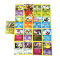 Wholesale Zorn Poke Pokémon go Trading Cards Games XY break point Poke Monsters Flash Fire Games Toys Cards for Children box