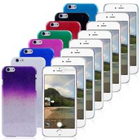 4s dos Prix-Crystal Gradient Rain Drop Hard PC Retour Case Cover Raindrop Shell pour iPhone 6G 6 Plus 6+ 5 5G 5S 5C 4S 4