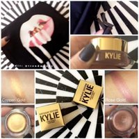 Wholesale Good price Kylie Jenner Cosmetics Birthday Edition Creme Shadow Copper Rose Gold Confirm different colours