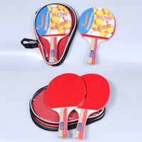 Wholesale Table Tennis Rackets Set Racket blade Racket Pouch Long Handle Shake hand Ping Pong Paddle Balls Sports Accessories