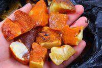 baltic amber raw - 20grams Genuine Natural Baltic Amber Stone Raw
