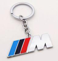 audi rings black - blue black red Car Key Rings Fob Holder Car Logo Keychain for BMW M1 M3 F10 F20 F30 X1 X3 X6 I I li AUDI VW New