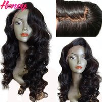 Wholesale Glueless Silk Top Full Lace Wig Virgin Brazilian Human Hair Body Wave Silk Base Lace Wigs With Bleached Knots Baby Hair