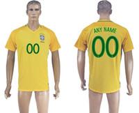 Wholesale 2016 new brazil national team soccer jersey football uniform home away men jerseys uniforms man shirt onsale shirts thai neymar jr