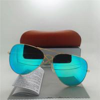 Wholesale Classic Men Women Sunglasses Brand Designer High Quality Sun Glasses eyeglasses UV400 Vintage Sport Glasses With Original Brown Case Box