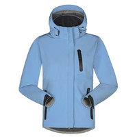 Wholesale 2016 Outdoor Brand Softshell Jacket Women Hiking Jacket Waterproof Windproof Thermal Jacket For Hiking Camping Ski Super Quality Female Coat
