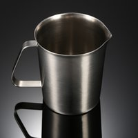 kitchen containers for sale ml stainless steel milk pitcher multifunctional cup jug milk foam container measuring cup fine coffee tool kitchen gadgets