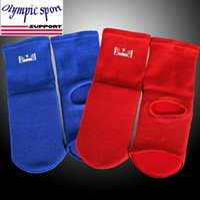 Wholesale High quality kangrui apologetics boxing ankle support socks adult child cotton for mma taekwondo training