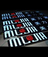 Wholesale Good quality water proof illuminated Led signs resin front lit letters outdoor Advertising signs shop logos