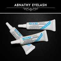 Wholesale high quality makeup eyelash tool long lasting hypoallergenic latex free permanent white color eyelash glue