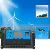 Wholesale Hot Selling New A V V TX BL Solar Charge Controller USB Ports LED Display