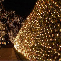 4 * 6M Belle Éclairage décoratif 672 LED de lumières de Noël Net Lumière Arbre Party Halloween Mariage Décoration extérieure