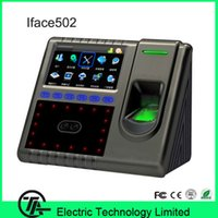 Wholesale Good quality Iface502 TCP IP USB WIFI RS485 face amp fingerprint time attendance and access control Iface502