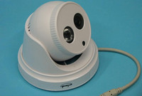 Wholesale Hd dome camera White and with night vision u can see meter infrared ray and clearly