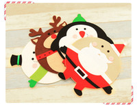Wholesale Christmas Decoration Mouse Pads Computer Game Mousepad Cute Xmas Snowman Keyboard Mouse Gift Christmas Gifts Party Decoration