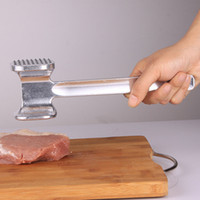 bbq sides - Hot meat tenderizer Mallet needle pounders Aluminum Two Sided Meat Hammer for Steak Beef Chicken bbq tool kitchen accessories