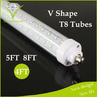 action door - LIGHTING ACTION V Shaped ft Cooler Door Led Tubes T8 Integrated Led Tubes Double Sides SMD2835 Led Fluorescent Lights AC V W TUBE