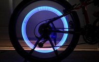 best neon - 6000pcs Car Motorcycle Bike Bicycle Cycling Tyre Wheel Neon Valve Firefly Spoke LED Cycle Light Lamp best quality a1111a