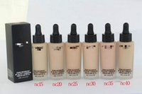 ac liquid - Hot M AC Brand Unique Touch Mineral Liquid Foundation Professional Makeup Foundation Waterproof Face Concealer Skin Perfecting
