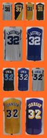 baseball magic - Men s Reggie Miller Christian Laettner Shaquille O Neal Magic Johnson Popular jersey Top Quality Drop Shipping Accept