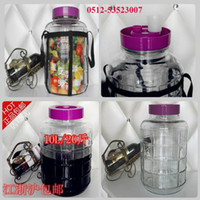 Wholesale Wine Make Machine Kupper glass bottle wine paojiu bottle Brew maker wine brewer
