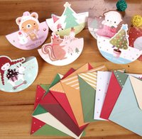 Wholesale Christmas Cards Sets Gift Cards Birthday Box A78