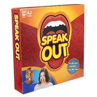 Wholesale LOL Speak Out Games Ridiculous Mouthpiece Challenge Game game for your mouthpiece with paper cards funny game for christmas fit for family