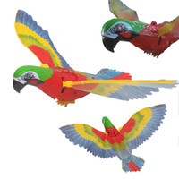 Wholesale Electric parrot Disconnect the parrot birds flying eagle Eyes will be bright voice With lamp with music