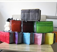 Wholesale Makeup Bag Storage Organizer Bag Women Men Casual Travel Multi Functional Cosmetic Shortage Bag Zipper Phone Handbag